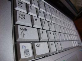 Come riparare le chiavi su un Notebook