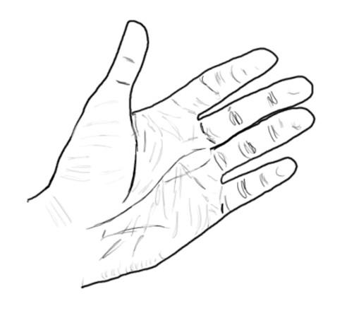 Come creare una mano usando Photoshop