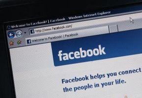 Come mantenere un privato pagina Facebook fino al lancio