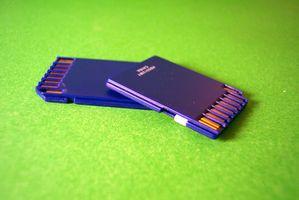 Come completamente formattare una scheda SD