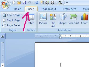 Come aggiungere simboli in un documento di Microsoft Word 2007