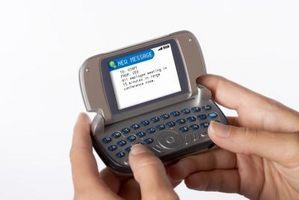 Come ricevere i testi dei messaggi di Yahoo Messenger