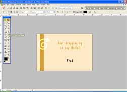 Come fare una eCard in Photoshop