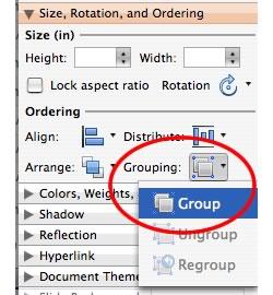 Come separare in Power Point per Mac