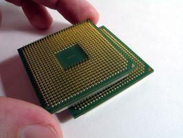 Come aggiornare una CPU su un Gateway M-1617 Notebook