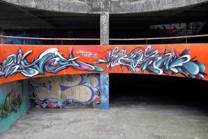 Come disegnare Graffiti Cool scrivendo lettere maiuscole