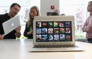 Test di velocità per un MacBook Pro