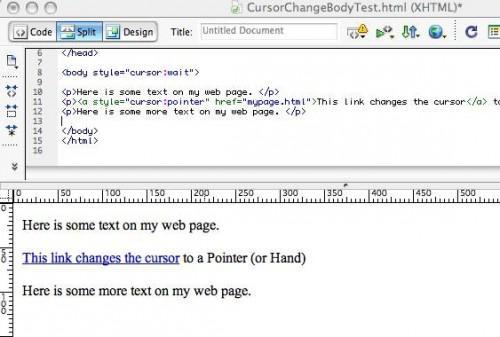 Come modificare il puntatore del Mouse su un sito Web