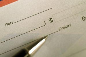 Come stampare grafica & loghi su un assegno in bianco