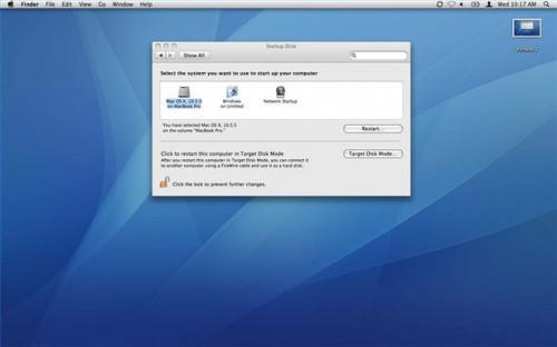 Come riavviare un Mac in modalità disco di destinazione