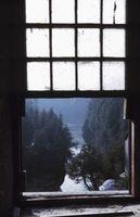 Come rimuovere una finestra doppio pannello scorrevole