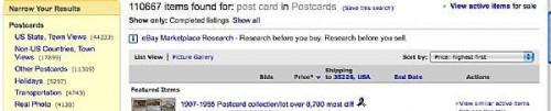 Come vendere vecchie cartoline su eBay