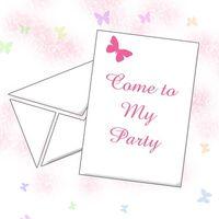Come creare farfalla inviti Online per un 21 ° compleanno