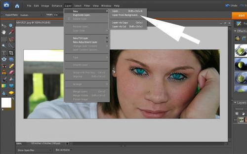 Come fare gli occhi Pop in Photoshop