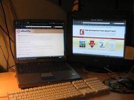 Come impostare due monitor su un computer portatile