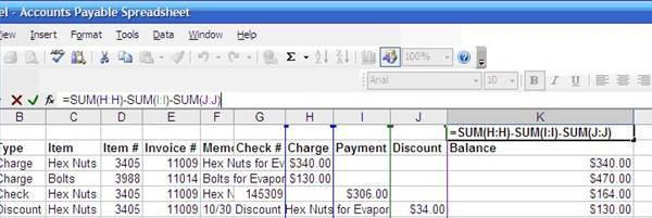 Come creare un foglio di calcolo da pagare conti - Creare finestra popup ...