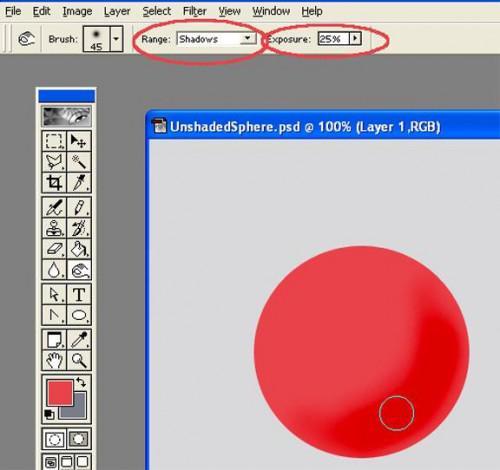 Come aggiungere un'ombreggiatura con una tavoletta grafica Wacom