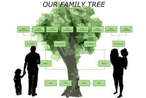 Come creare un modello di albero genealogico