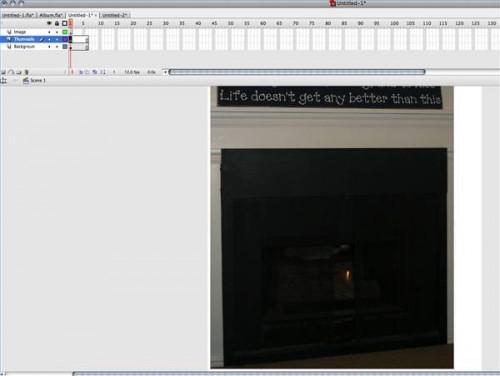 Come creare una galleria fotografica in Flash