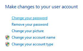 Come eseguire una reimpostazione della Password