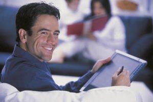 L'accesso a un Router Wireless con un Tablet