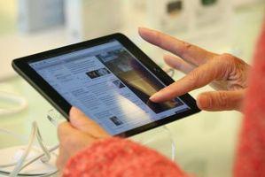 Come aggiornare un iPad senza supporto It Up