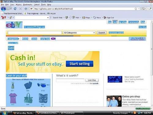 Come elencare oggetti su Ebay