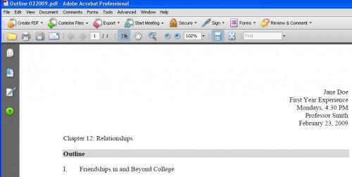 Come rimuovere pagine da un File PDF