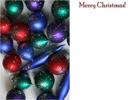 Come creare una cartolina di Natale utilizzando Photoshop CS3
