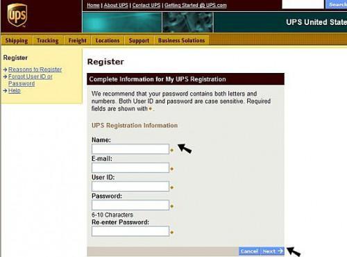 Come spedire pacchetti da casa tramite UPS Internet Shipping