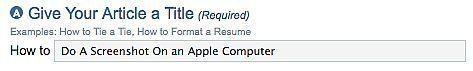 Come fare uno Screenshot su un Computer Apple