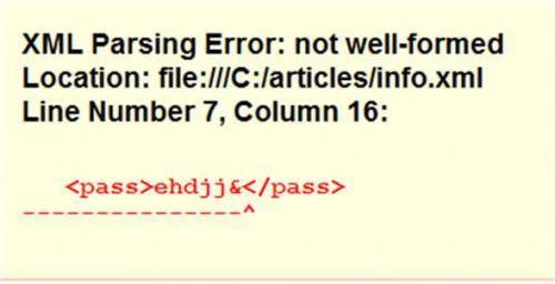 Come utilizzare CDATA in XML