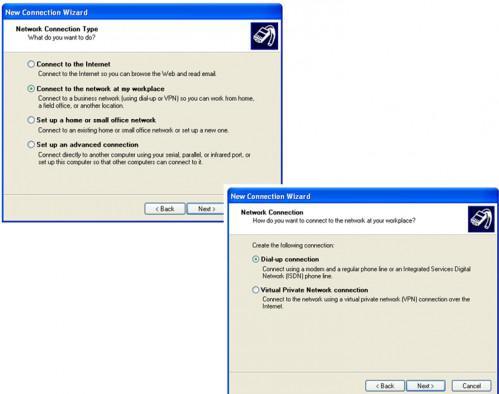 Come installare una scheda di connessione remota in Windows XP