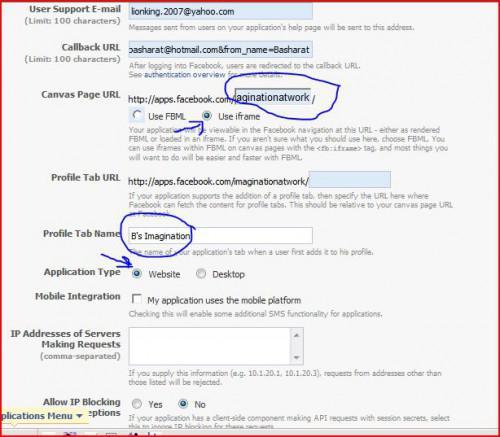 Come creare un'applicazione Facebook