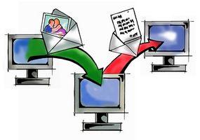 Come salvare le foto tramite Email