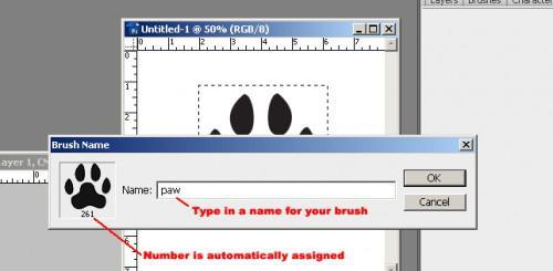 Come fare pennelli Photoshop