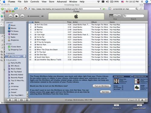 Come caricare un CD per la libreria di iTunes