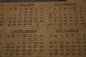 Come trovare la tua data di nascita di calendario perpetuo