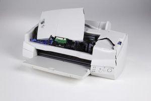 Come rimuovere le cartucce di inchiostro da una Epson Stylus NX200
