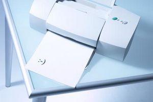 Come pulire la testina di stampa cartucce su una Lexmark