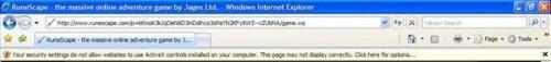 Come installare il controllo ActiveX 12 per Runescape