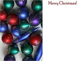 Come creare una cartolina di Natale con foto