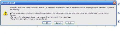Come risolvere circolare formule in Excel