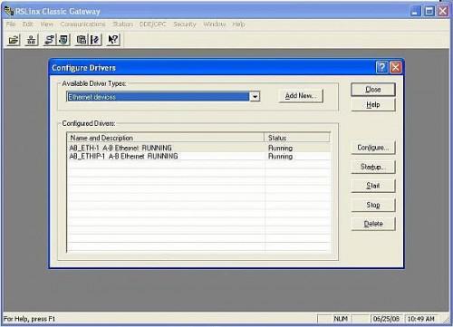 Come importare dati PLC in Excel utilizzando il software RSLinx di DDE