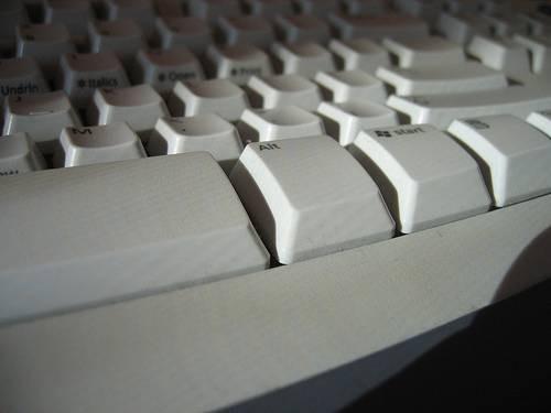 Sulla tastiera fuoriuscite