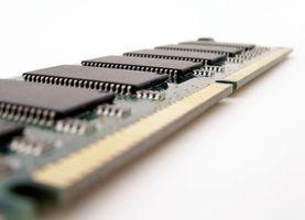 Come modificare la memoria su un computer portatile di Toshiba Tecra M4