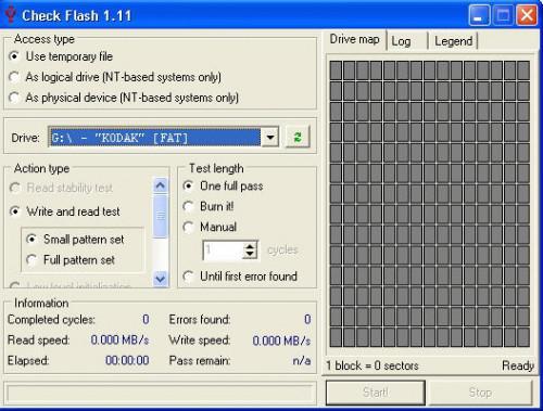 Come testare e rilevare il settore difettoso nel flash drive di memoria o penna USB