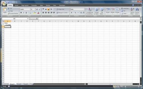 Come fare un foglio di calcolo di 30 giorni