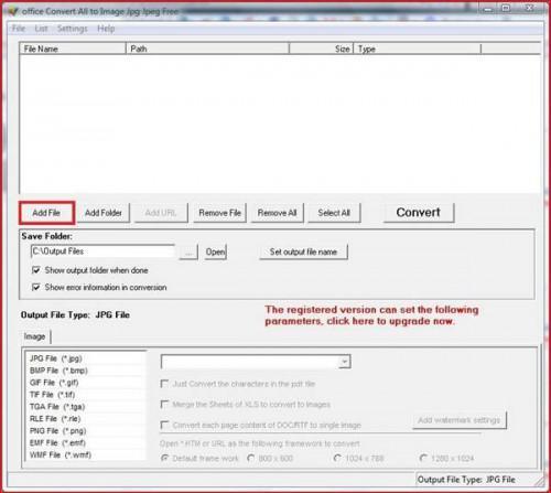 Come creare i file JPEG da documenti di Microsoft Office