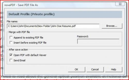Come creare un File PDF da un documento di Word